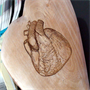 Engraving Heart on Heart